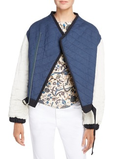 Isabel Marant Étoile Hanae Quilted Bomber