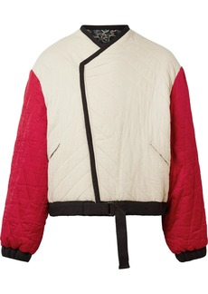 Isabel Marant Hanae Reversible Quilted Cotton Jacket