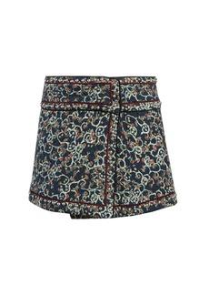 Isabel Marant Étoile Hanon quilted cotton-blend mini skirt