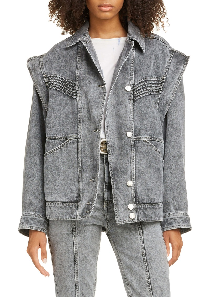Isabel Marant Étoile Harmon Convertible Denim Jacket
