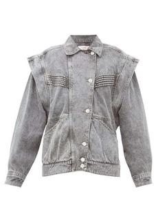Isabel Marant Étoile Harmon oversized denim jacket