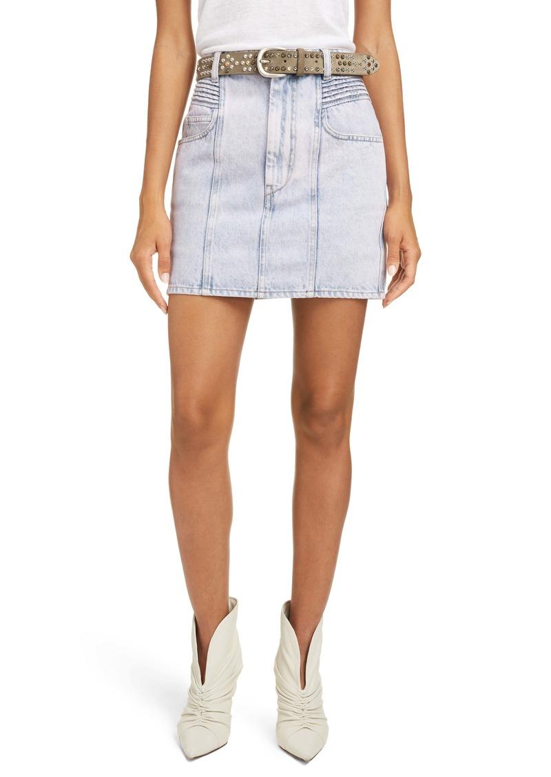 Isabel Marant Étoile Hondo Denim Miniskirt