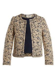 Isabel Marant Étoile Hustin floral-print quilted cotton-blend jacket