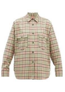 Isabel Marant Étoile Idaho checked cotton shirt