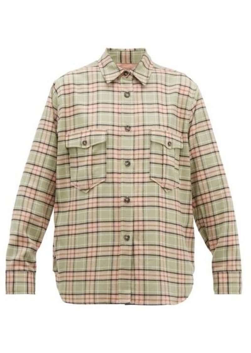 Isabel Marant Étoile Idaho checked cotton shirt