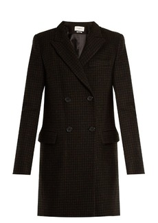 Isabel Marant Étoile Iken double-breasted hound's-tooth coat