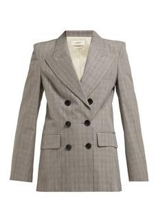 Isabel Marant Étoile Iliane checked blazer