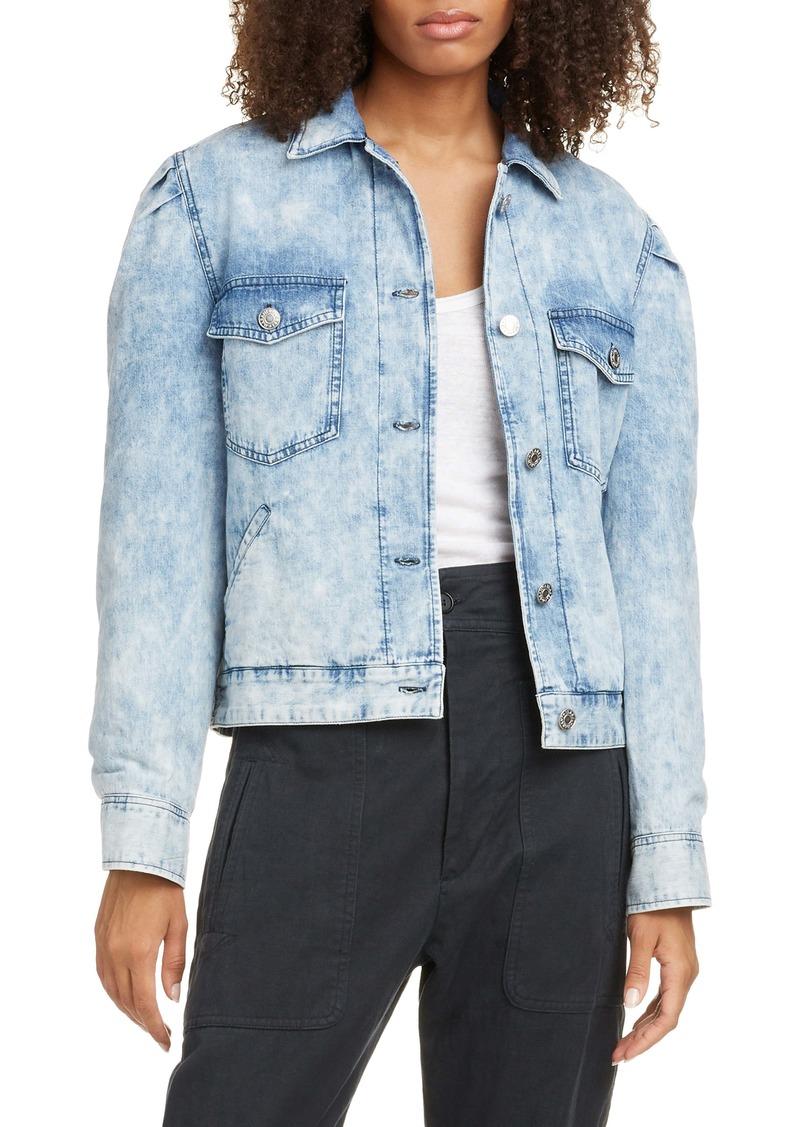 Isabel Marant Étoile Iolinea Stonewash Denim Jacket