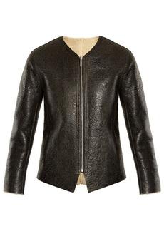 Isabel Marant Étoile Izy reversible leather and shearling jacket
