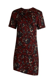 Isabel Marant Étoile Jade twist-front floral-print dress