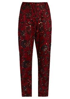 Isabel Marant Étoile Janelle floral-print trousers