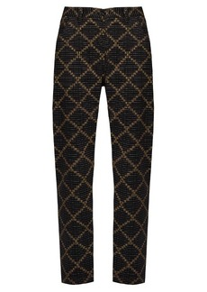 Isabel Marant Étoile Janelle geometric-print trousers