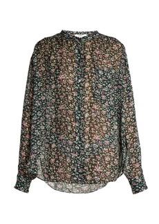 Isabel Marant Étoile Jaws floral-print crepe blouse