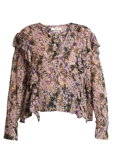Isabel Marant Étoile Jelby floral-print chiffon blouse