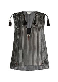 Isabel Marant Étoile Judith striped cotton top