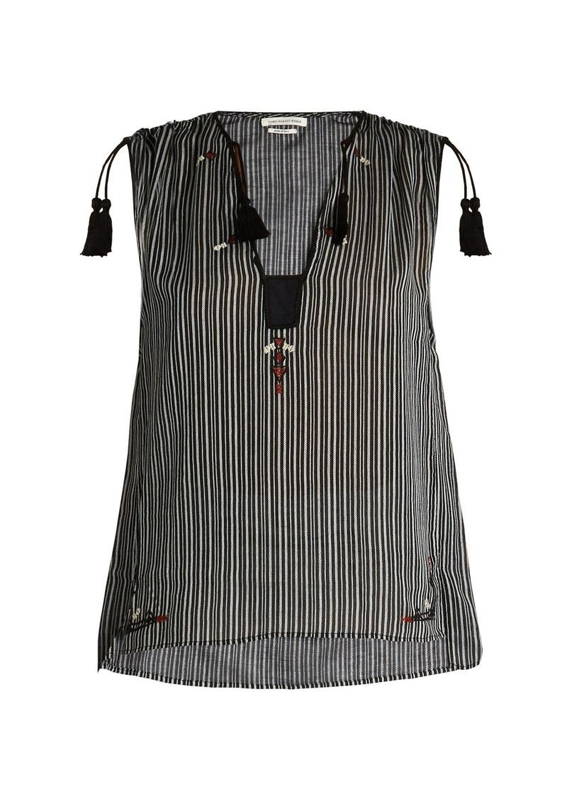 d938c20479bb17 Isabel Marant Isabel Marant Étoile Judith striped cotton top