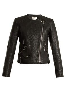 Isabel Marant Étoile Kankara bubbled leather jacket