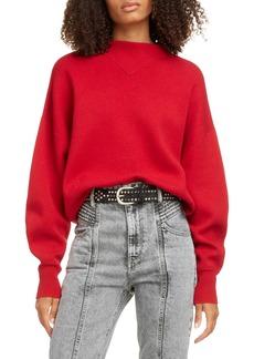 Isabel Marant Étoile Karl Mock Neck Sweater