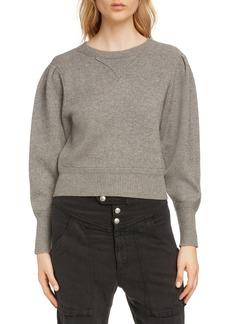 Isabel Marant Étoile Kelaya Puff Sleeve Sweater