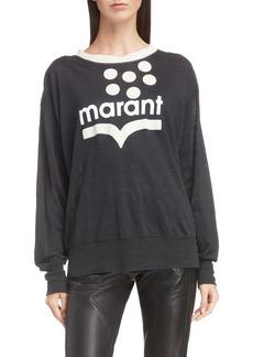 Isabel Marant Étoile Klowyn Logo Tee