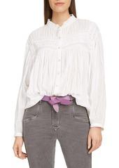 Isabel Marant Étoile Lalia Cotton Voile Blouse