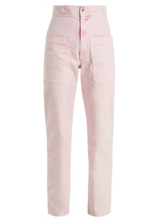Isabel Marant Étoile Lana high-rise straight-leg trousers
