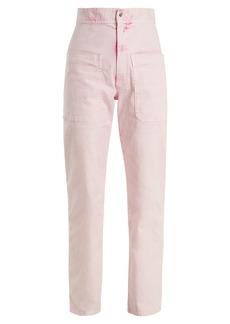 Isabel Marant Étoile Lana high-rise straight-leg trousers