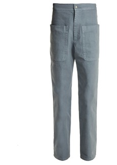 Isabel Marant Étoile Lana patch-pocket cotton-canvas trousers