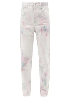 Isabel Marant Étoile Lanea high-rise tie-dye jeans