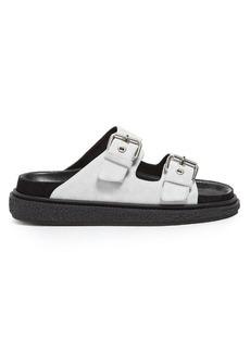 Isabel Marant Étoile Ledkin double-buckle suede sandals