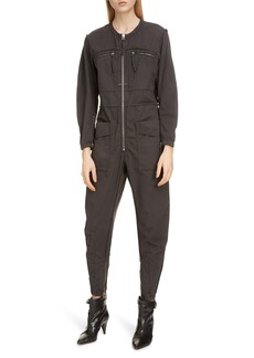 Isabel Marant Étoile Leiko Cotton Jumpsuit