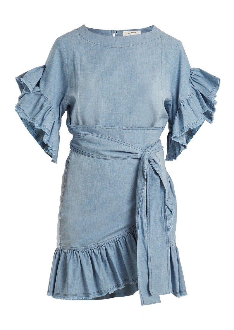 Isabel Marant Étoile Lelicia chambray dress