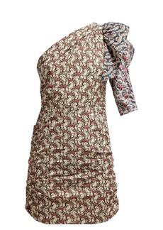 Isabel Marant Étoile Liila paisley-print one-shoulder dress