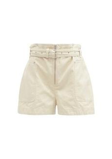 Isabel Marant Étoile Lilesibb high-rise cotton-blend denim shorts