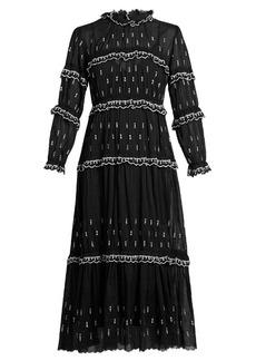 Isabel Marant Étoile Lyukio ruffle-trimmed tiered cotton dress