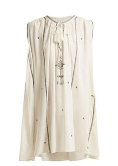 Isabel Marant Étoile Malya embroidered cotton dress