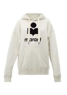 Isabel Marant Étoile Mansel cotton-blend hooded sweatshirt