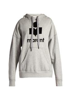 Isabel Marant Étoile Mansel logo-print hooded sweatshirt
