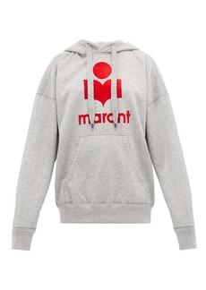 Isabel Marant Étoile Mansel logo-printed jersey hooded sweatshirt