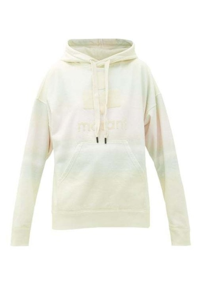 Isabel Marant Étoile Mansel cotton-blend hooded sweatshirt
