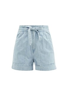 Isabel Marant Étoile Marius high-waist denim shorts