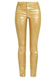 Isabel Marant Étoile High-rise skinny-fit cotton-blend jeans