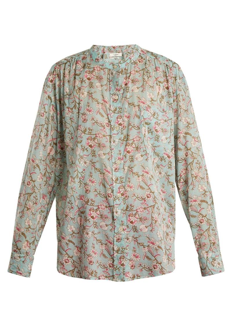 be4f06e9d214 Isabel Marant Isabel Marant Étoile Mexika floral-print cotton shirt ...