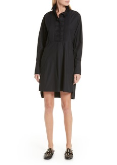 Isabel Marant Étoile Milena Ruffle Neck Shirtdress