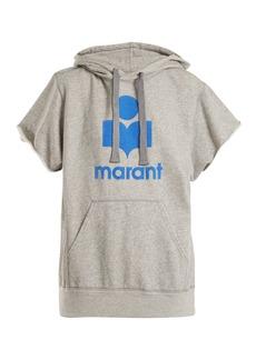 Isabel Marant Étoile Milesy logo-appliqué cotton-blend sweater