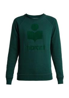 Isabel Marant Étoile Milly logo cotton-blend sweatshirt