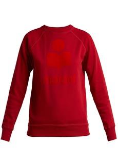 Isabel Marant Étoile Milly logo-print cotton-blend sweatshirt