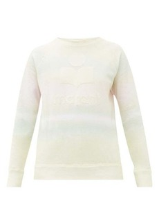 Isabel Marant Étoile Milly tie-dye print cotton-blend sweatshirt