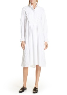 Isabel Marant Étoile Molan Poplin Shirtdress