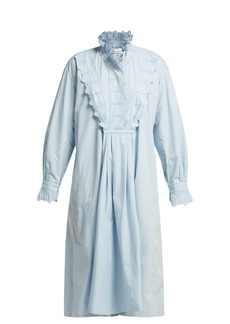 Isabel Marant Étoile Molan ruffled cotton midi dress